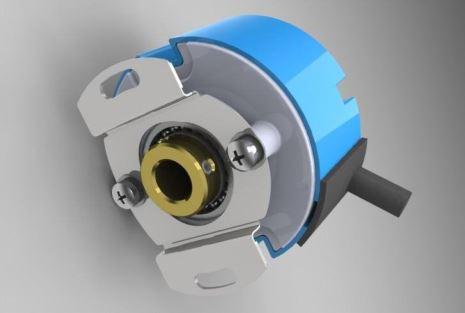 光电式编码器的工作原理是建立在原有编码器的